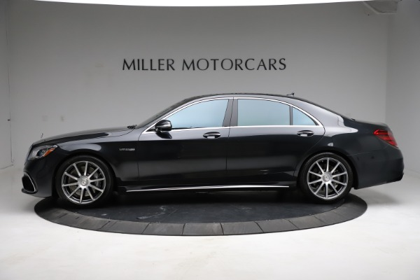 Used 2019 Mercedes-Benz S-Class AMG S 63 for sale $122,900 at McLaren Greenwich in Greenwich CT 06830 4