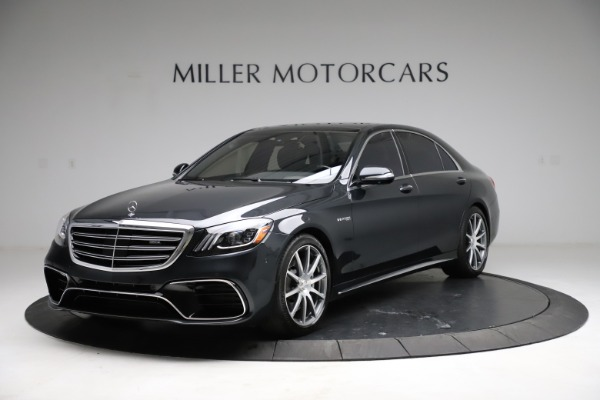 Used 2019 Mercedes-Benz S-Class AMG S 63 for sale $122,900 at McLaren Greenwich in Greenwich CT 06830 1