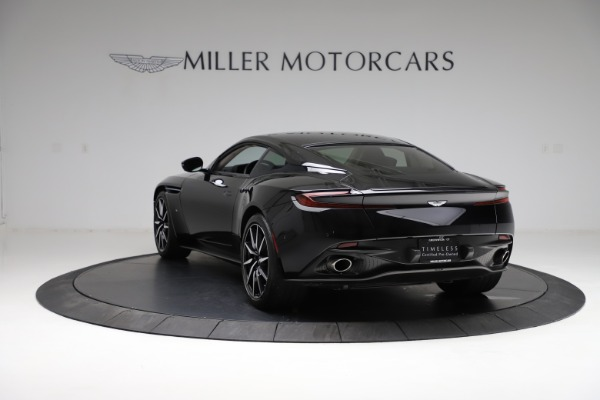 Used 2018 Aston Martin DB11 V12 for sale $159,990 at McLaren Greenwich in Greenwich CT 06830 4