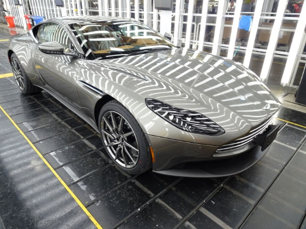 New 2021 Aston Martin DB11 V8 for sale $240,886 at McLaren Greenwich in Greenwich CT 06830 2
