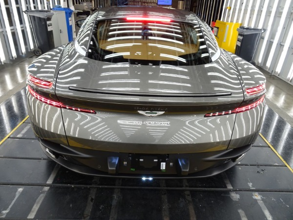 New 2021 Aston Martin DB11 V8 for sale $240,886 at McLaren Greenwich in Greenwich CT 06830 3