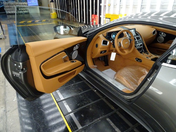 New 2021 Aston Martin DB11 V8 for sale $240,886 at McLaren Greenwich in Greenwich CT 06830 4