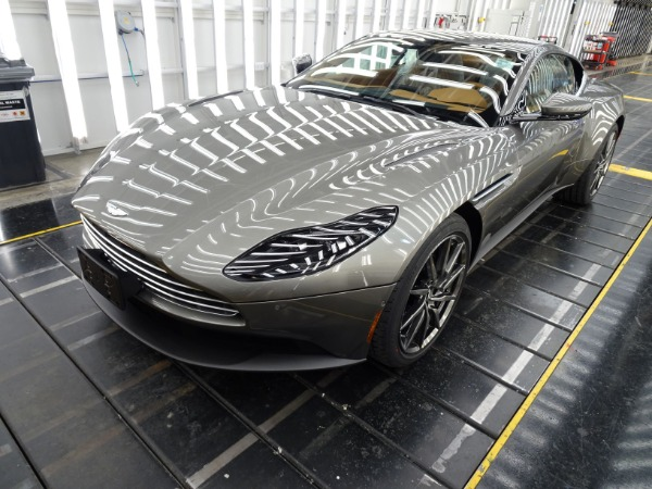 New 2021 Aston Martin DB11 V8 for sale $240,886 at McLaren Greenwich in Greenwich CT 06830 1