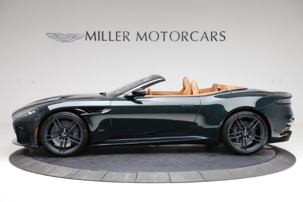 New 2021 Aston Martin DBS Superleggera Volante for sale $392,916 at McLaren Greenwich in Greenwich CT 06830 2
