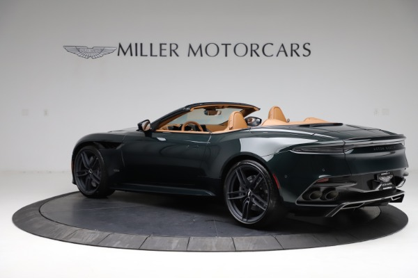 New 2021 Aston Martin DBS Superleggera Volante for sale $392,916 at McLaren Greenwich in Greenwich CT 06830 3