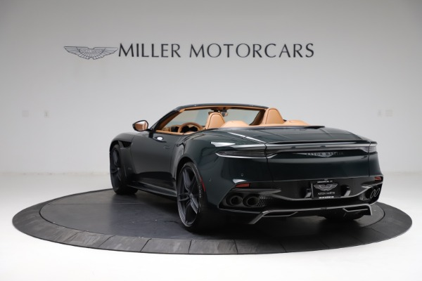 New 2021 Aston Martin DBS Superleggera Volante for sale $392,916 at McLaren Greenwich in Greenwich CT 06830 4