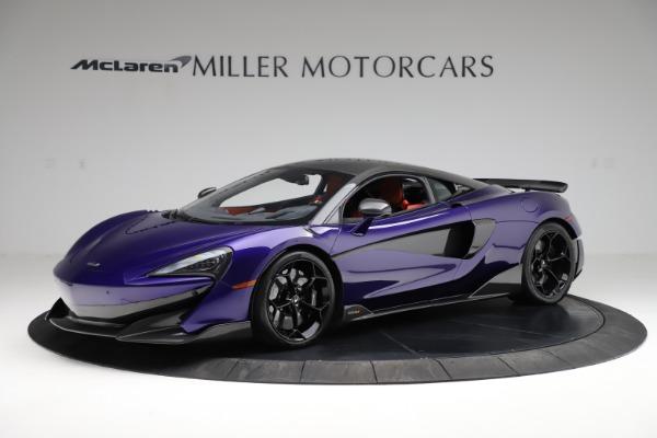Used 2019 McLaren 600LT for sale $234,900 at McLaren Greenwich in Greenwich CT 06830 1
