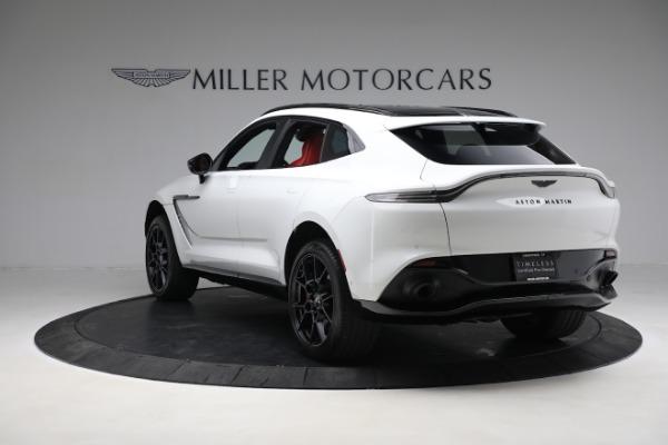 New 2021 Aston Martin DBX for sale $210,386 at McLaren Greenwich in Greenwich CT 06830 4