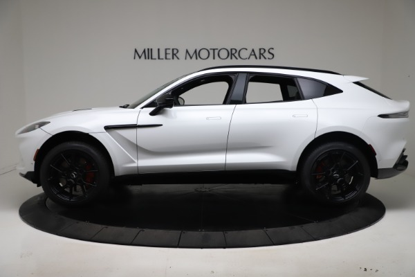 New 2021 Aston Martin DBX for sale $206,286 at McLaren Greenwich in Greenwich CT 06830 2