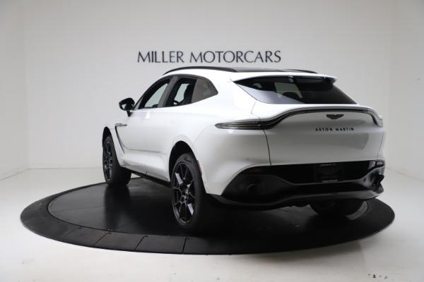 New 2021 Aston Martin DBX for sale $206,286 at McLaren Greenwich in Greenwich CT 06830 4