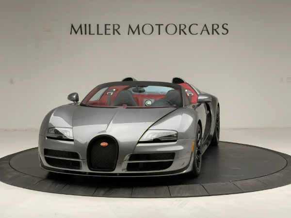 Used 2013 Bugatti Veyron 16.4 Grand Sport Vitesse for sale Call for price at McLaren Greenwich in Greenwich CT 06830 2