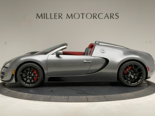 Used 2013 Bugatti Veyron 16.4 Grand Sport Vitesse for sale Call for price at McLaren Greenwich in Greenwich CT 06830 3