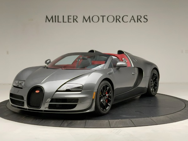 Used 2013 Bugatti Veyron 16.4 Grand Sport Vitesse for sale Call for price at McLaren Greenwich in Greenwich CT 06830 1