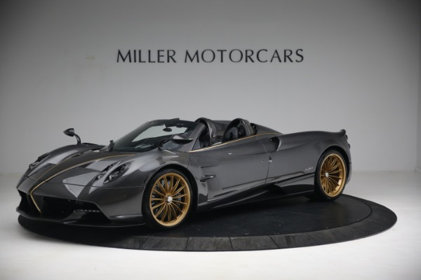 Used 2017 Pagani Huayra Roadster for sale Call for price at McLaren Greenwich in Greenwich CT 06830 2