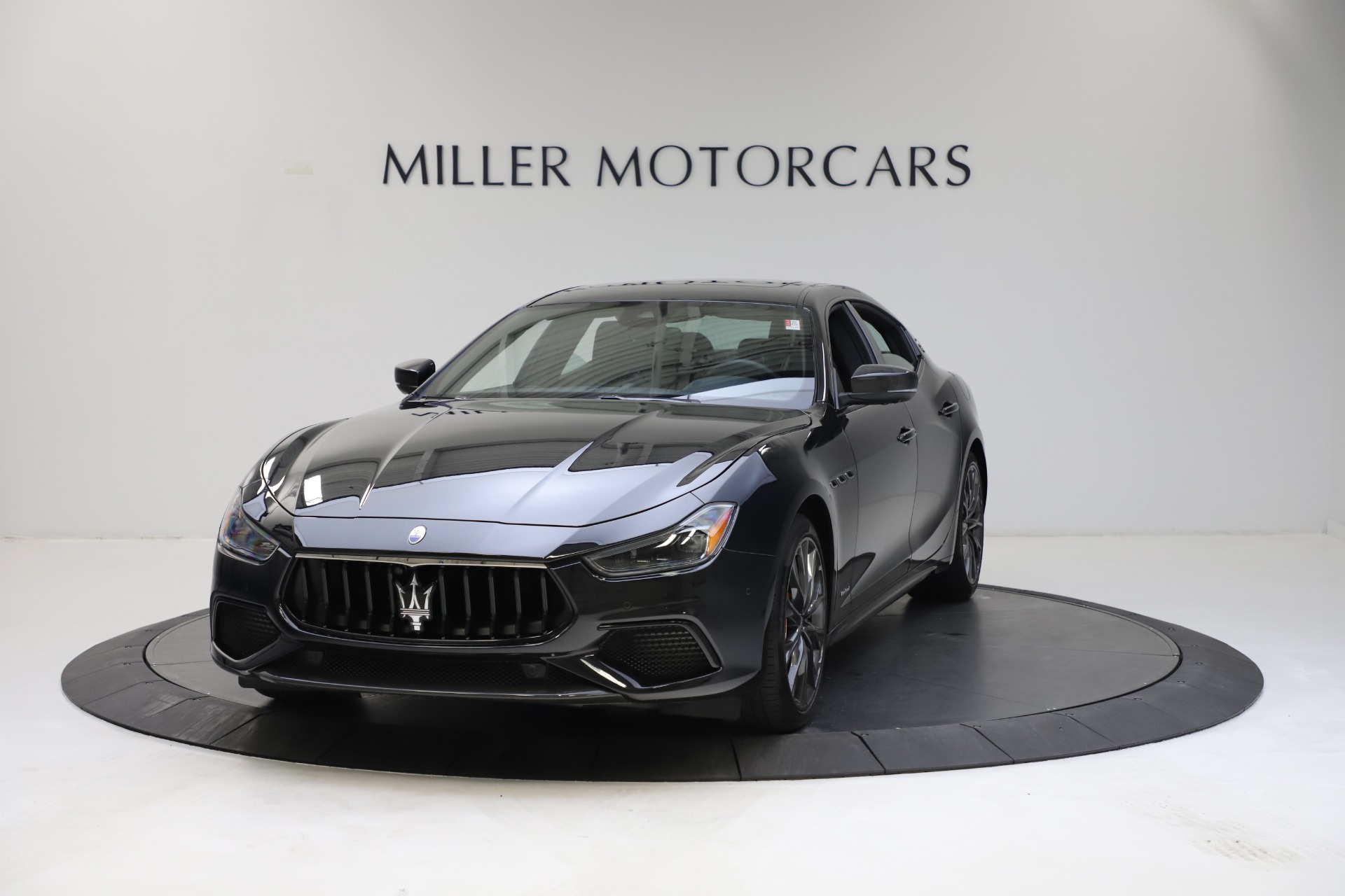 New 2021 Maserati Ghibli S Q4 GranSport for sale $100,285 at McLaren Greenwich in Greenwich CT 06830 1