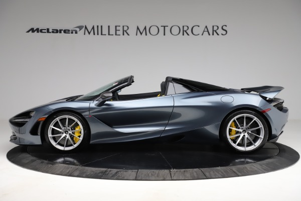 New 2021 McLaren 720S Spider for sale $351,450 at McLaren Greenwich in Greenwich CT 06830 2