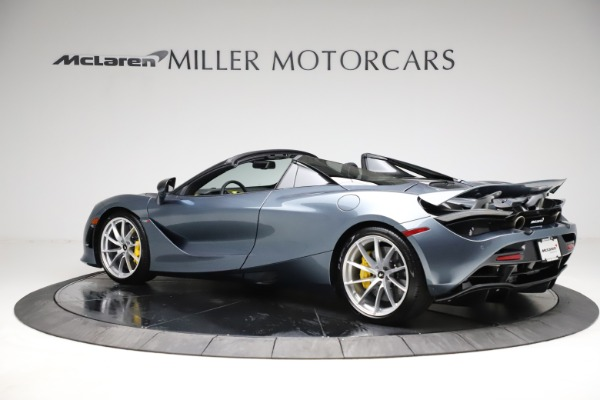 New 2021 McLaren 720S Spider for sale $351,450 at McLaren Greenwich in Greenwich CT 06830 3