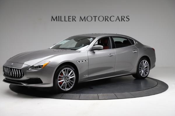 New 2021 Maserati Quattroporte S Q4 GranLusso for sale $122,435 at McLaren Greenwich in Greenwich CT 06830 2
