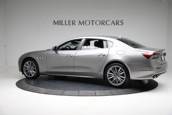 New 2021 Maserati Quattroporte S Q4 GranLusso for sale $122,435 at McLaren Greenwich in Greenwich CT 06830 4