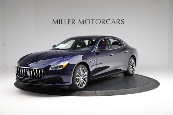 New 2021 Maserati Quattroporte S Q4 for sale Call for price at McLaren Greenwich in Greenwich CT 06830 2