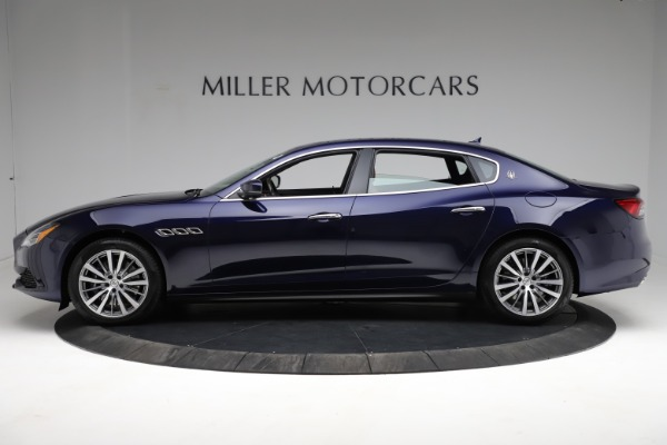 New 2021 Maserati Quattroporte S Q4 for sale Call for price at McLaren Greenwich in Greenwich CT 06830 3