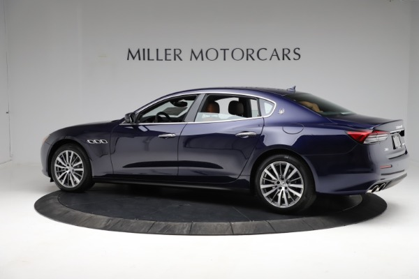 New 2021 Maserati Quattroporte S Q4 for sale Call for price at McLaren Greenwich in Greenwich CT 06830 4