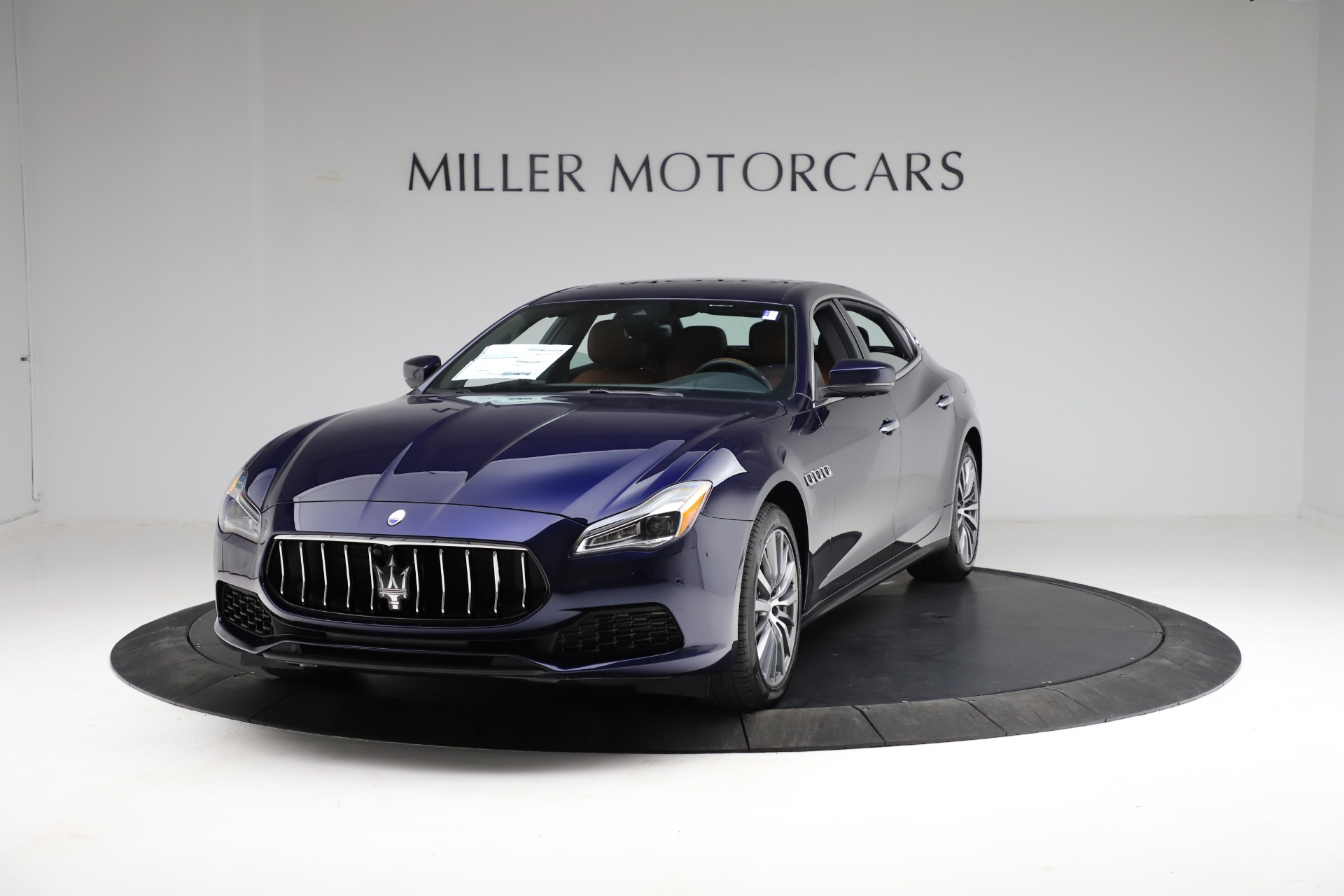 New 2021 Maserati Quattroporte S Q4 for sale Call for price at McLaren Greenwich in Greenwich CT 06830 1
