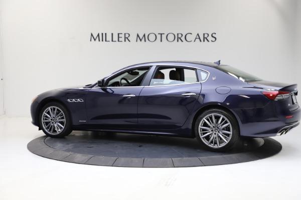 New 2021 Maserati Quattroporte S Q4 GranLusso for sale $123,549 at McLaren Greenwich in Greenwich CT 06830 3