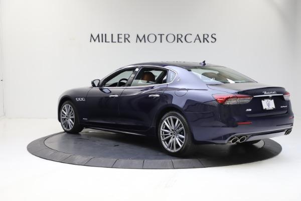 New 2021 Maserati Quattroporte S Q4 GranLusso for sale $123,549 at McLaren Greenwich in Greenwich CT 06830 4