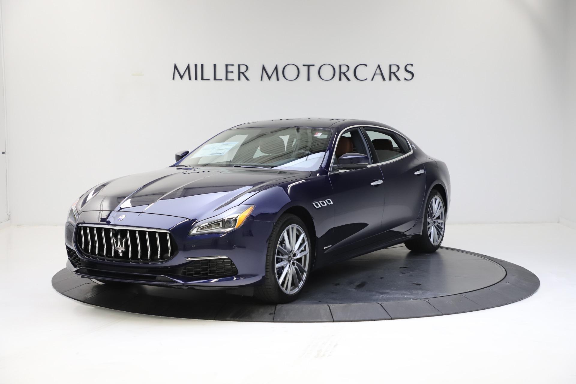 New 2021 Maserati Quattroporte S Q4 GranLusso for sale $123,549 at McLaren Greenwich in Greenwich CT 06830 1