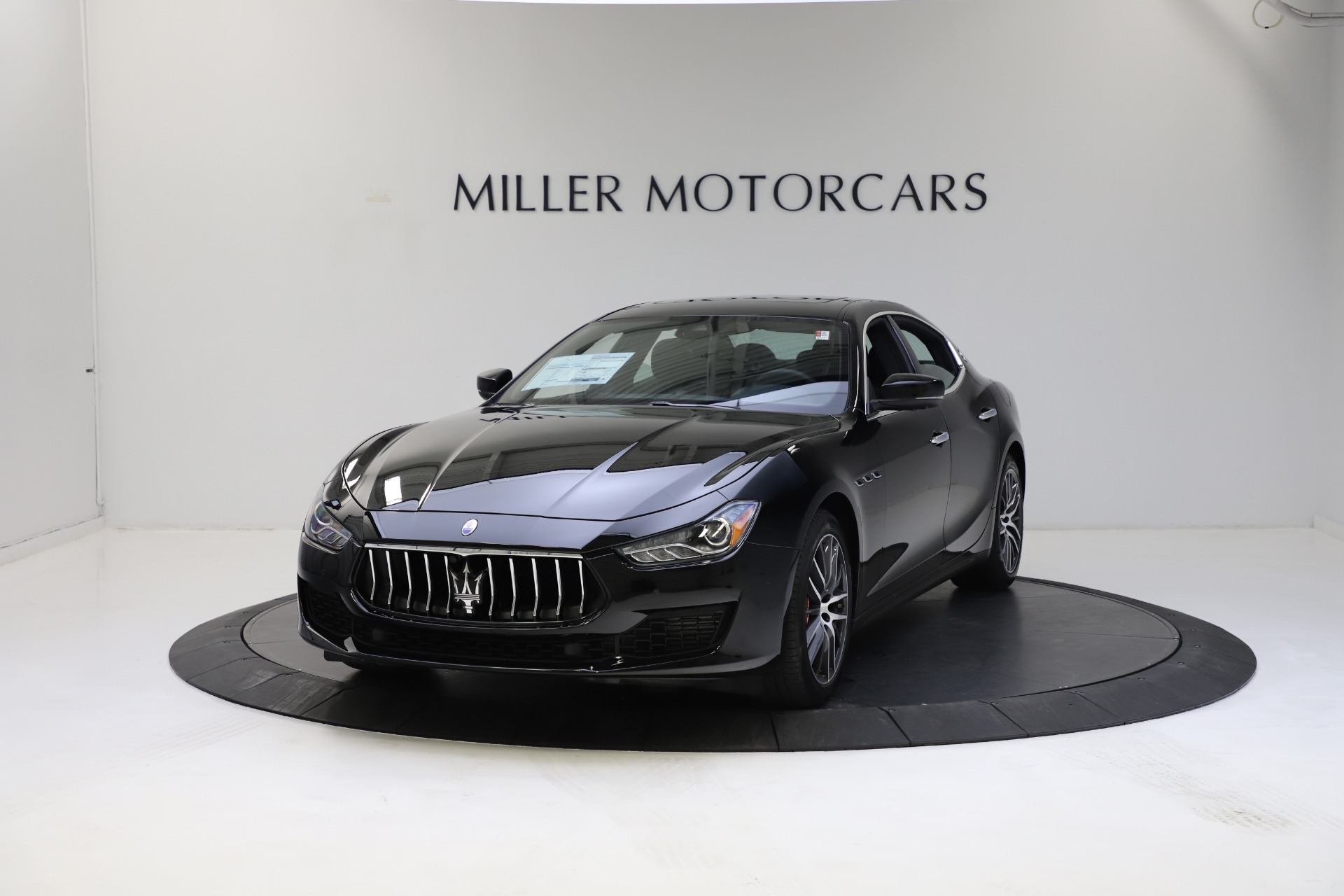 New 2021 Maserati Ghibli S Q4 for sale $86,654 at McLaren Greenwich in Greenwich CT 06830 1