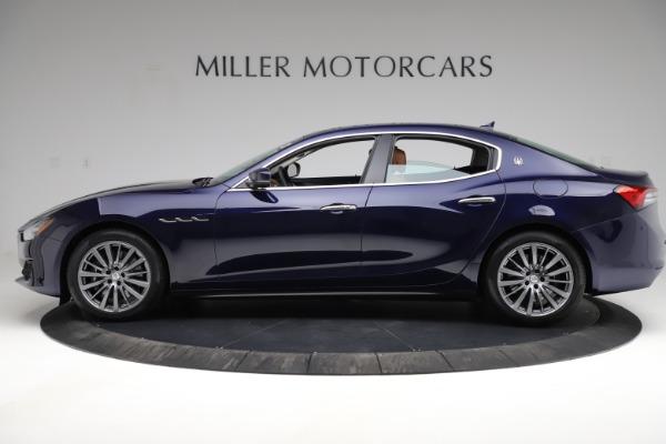 New 2021 Maserati Ghibli S Q4 for sale $86,954 at McLaren Greenwich in Greenwich CT 06830 3
