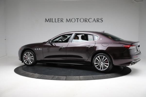 New 2021 Maserati Quattroporte S Q4 for sale Sold at McLaren Greenwich in Greenwich CT 06830 3