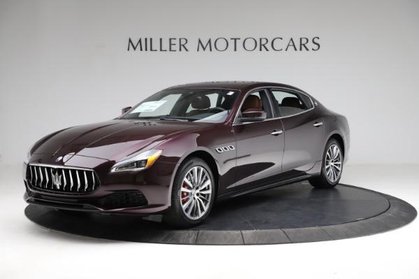 New 2021 Maserati Quattroporte S Q4 for sale $114,149 at McLaren Greenwich in Greenwich CT 06830 1