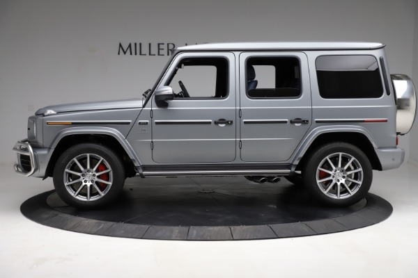 Used 2021 Mercedes-Benz G-Class AMG G 63 for sale $219,900 at McLaren Greenwich in Greenwich CT 06830 3