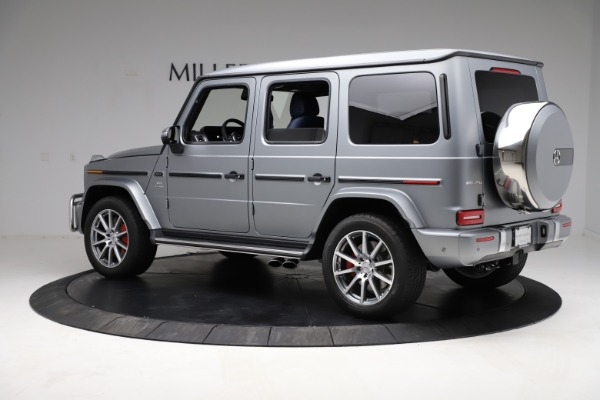 Used 2021 Mercedes-Benz G-Class AMG G 63 for sale $219,900 at McLaren Greenwich in Greenwich CT 06830 4