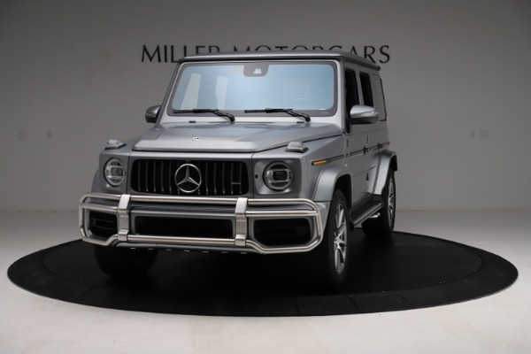 Used 2021 Mercedes-Benz G-Class AMG G 63 for sale $219,900 at McLaren Greenwich in Greenwich CT 06830 1