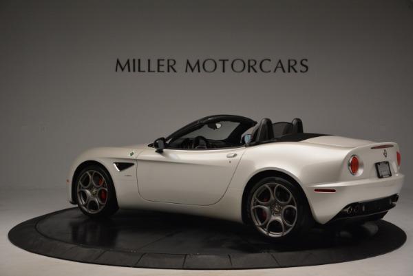Used 2009 Alfa Romeo 8C Competizione Spider for sale $345,900 at McLaren Greenwich in Greenwich CT 06830 4