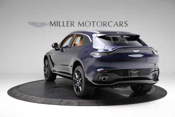 New 2021 Aston Martin DBX for sale $205,386 at McLaren Greenwich in Greenwich CT 06830 4