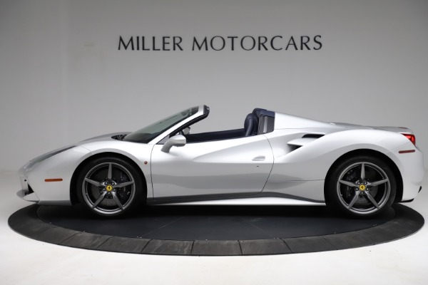 Used 2017 Ferrari 488 Spider for sale $284,900 at McLaren Greenwich in Greenwich CT 06830 3