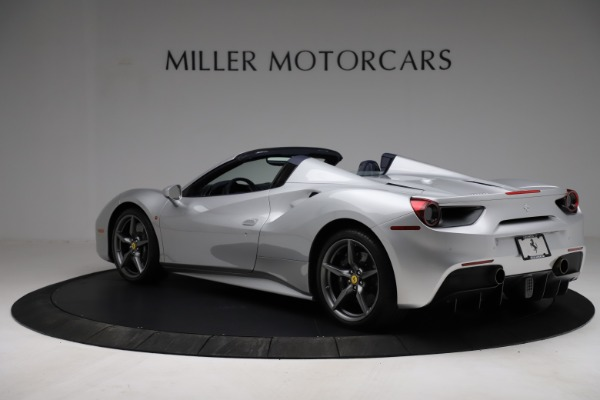 Used 2017 Ferrari 488 Spider for sale $284,900 at McLaren Greenwich in Greenwich CT 06830 4