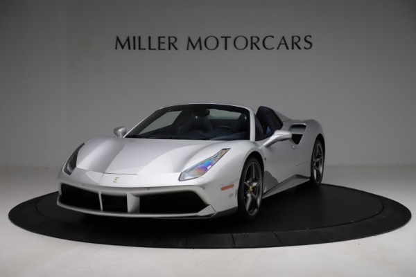 Used 2017 Ferrari 488 Spider for sale $284,900 at McLaren Greenwich in Greenwich CT 06830 1