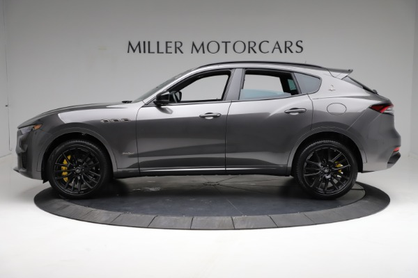 New 2021 Maserati Levante S Q4 GranSport for sale $114,485 at McLaren Greenwich in Greenwich CT 06830 3