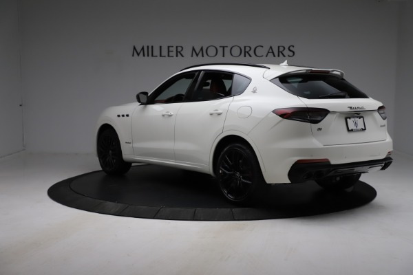 New 2021 Maserati Levante Q4 GranSport for sale $96,235 at McLaren Greenwich in Greenwich CT 06830 4