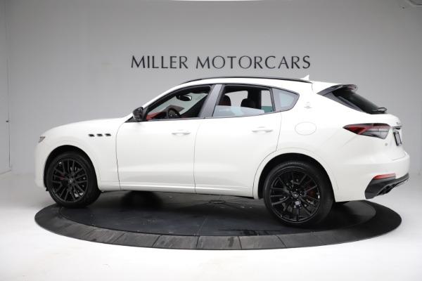 New 2021 Maserati Levante Q4 for sale Call for price at McLaren Greenwich in Greenwich CT 06830 3