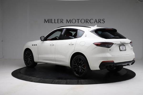New 2021 Maserati Levante Q4 for sale Call for price at McLaren Greenwich in Greenwich CT 06830 4