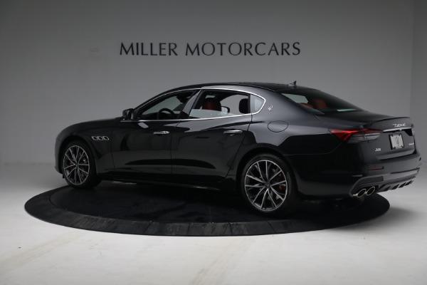 New 2021 Maserati Quattroporte S Q4 for sale $119,589 at McLaren Greenwich in Greenwich CT 06830 4