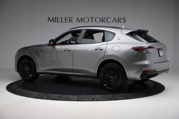 New 2021 Maserati Levante Q4 GranSport for sale $93,685 at McLaren Greenwich in Greenwich CT 06830 4