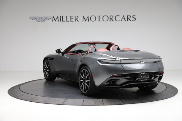 Used 2019 Aston Martin DB11 Volante for sale $211,990 at McLaren Greenwich in Greenwich CT 06830 4
