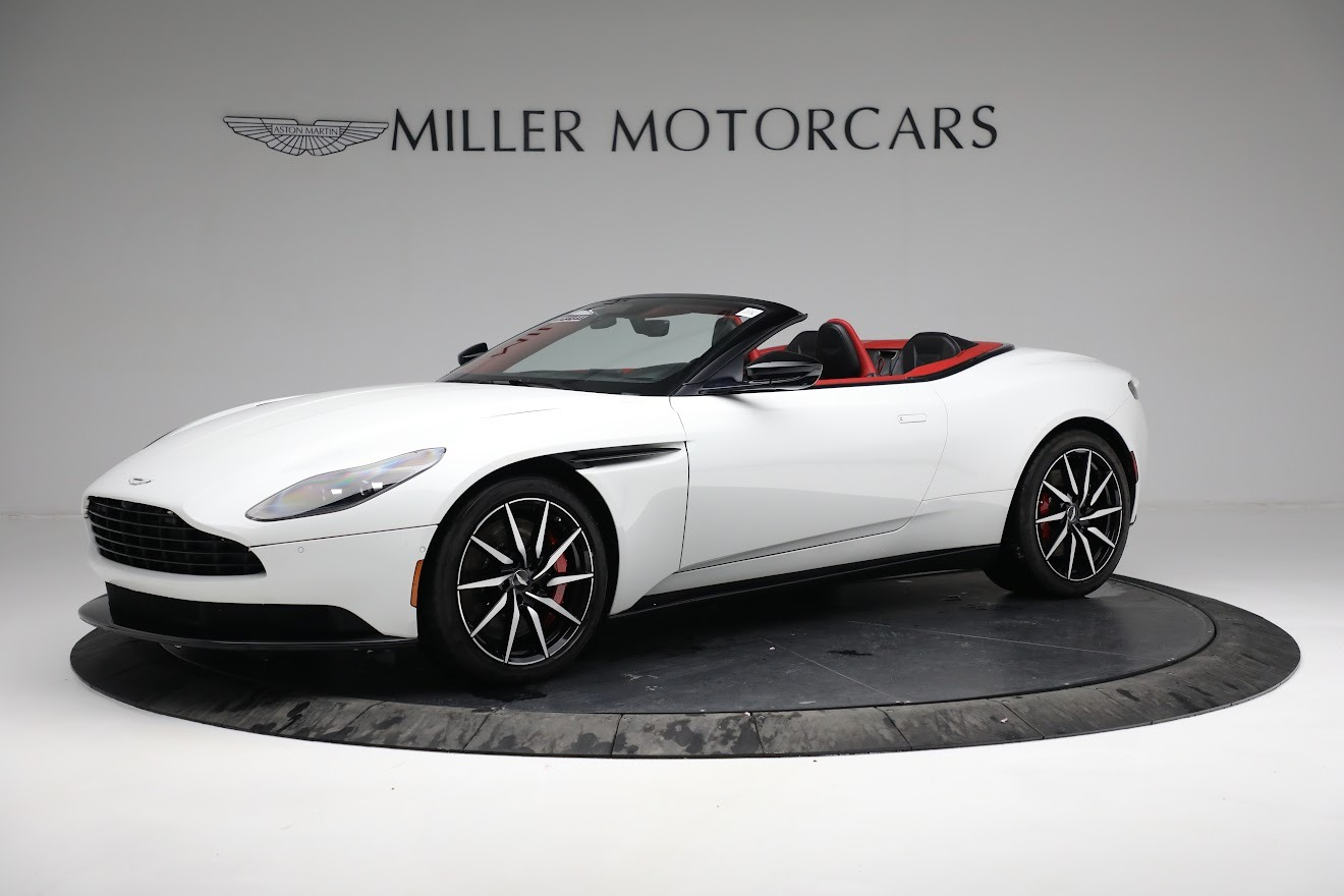 Used 2019 Aston Martin DB11 Volante for sale $209,990 at McLaren Greenwich in Greenwich CT 06830 1